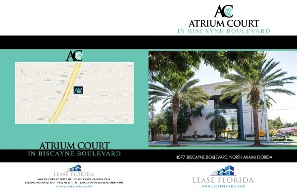Office For Lease 11077 Biscayne Blvd North Miami Beach Fl
