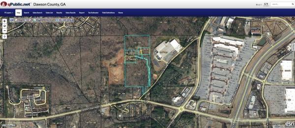 Land for Sale - 000 G.W. Taffer Rd., Dawsonville GA 30534